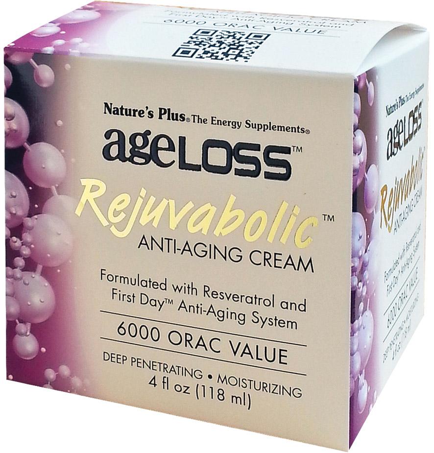 NATURES PLUS AgeLOSS REJUVABOLIC Cream