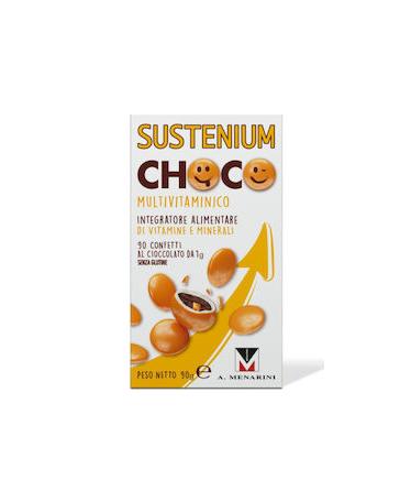 Menarini Sustenium Choco Multivitamin 90 Σοκολατένια Κουφετάκια