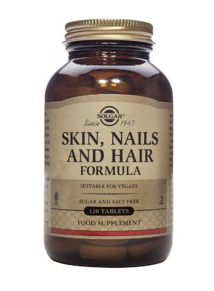 Solgar Skin Hair & Nails 120 ταμπλέτες