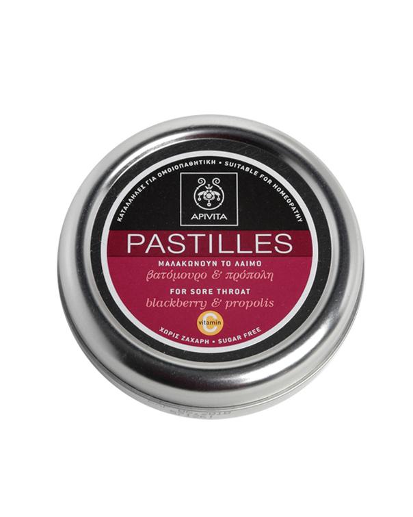 Apivita Pastillies Βατόμουρο&Πρόπολη 45gr