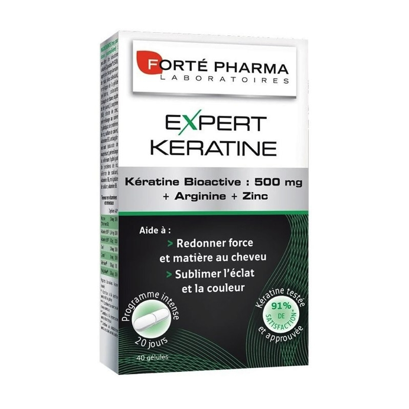Forte Pharma Expert Keratine 40 κάψουλες