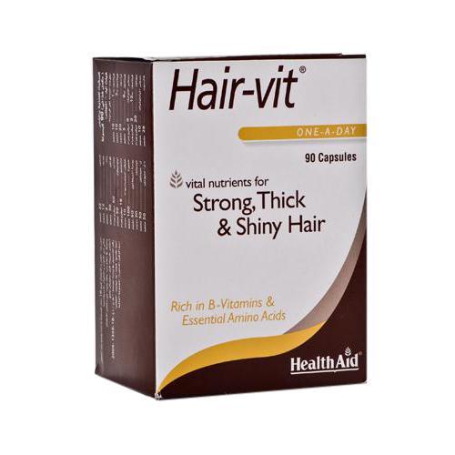 Health Aid Hair-Vit 90caps