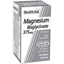 Health Aid Magnesium Bisglycinate 375mg 60tablets