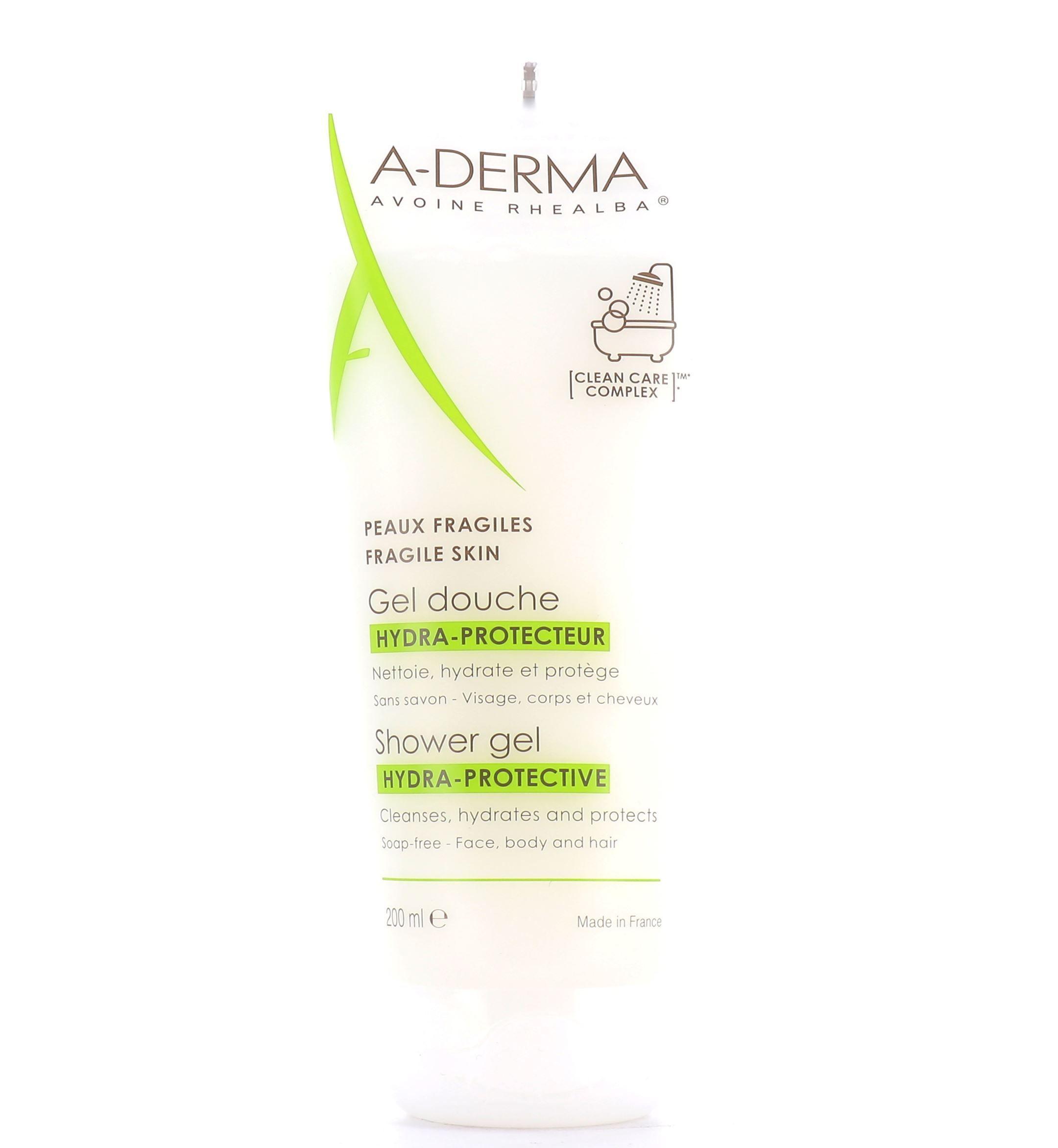 ADerma Hydra-Protective Shower Gel 200ml