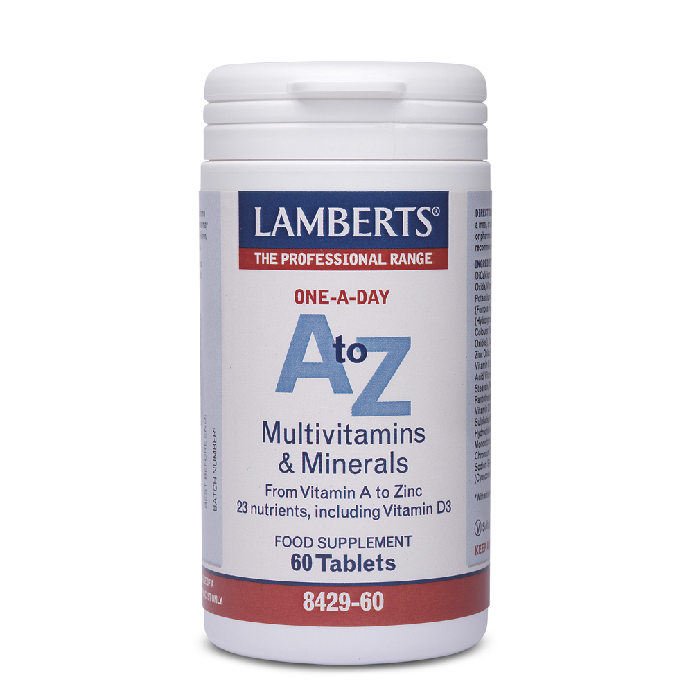 Lamberts A to Z με 60 ταμπλέτες