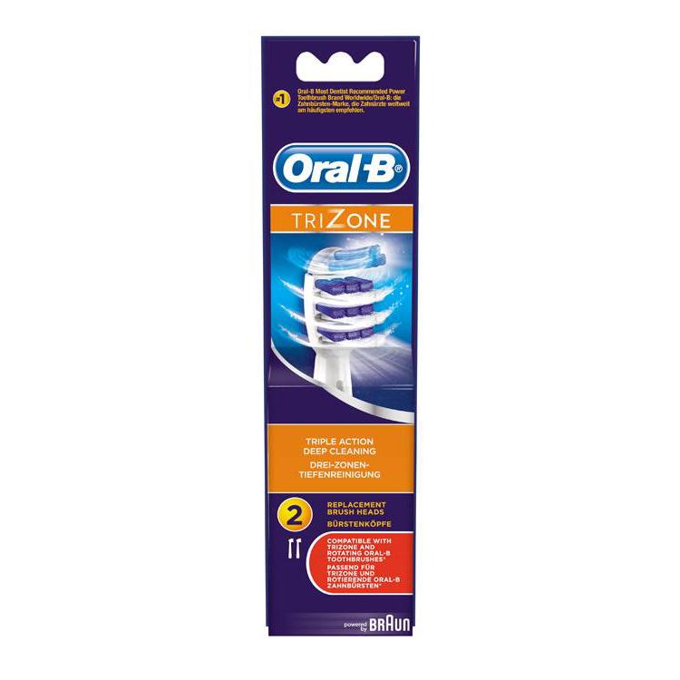 Oral-B Trizone 2 Ανταλλακτικές Κεφαλές