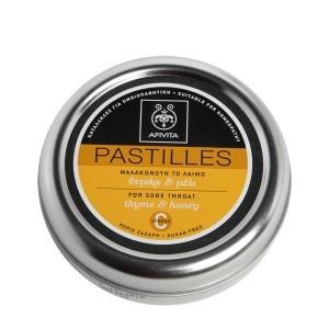 Apivita Pastilles Θυμάρι & μέλι 45gr