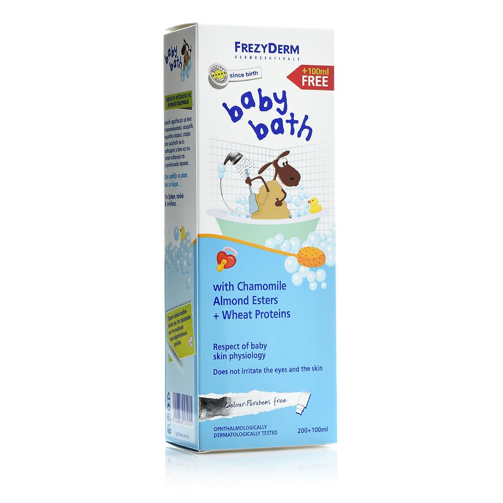 Frezyderm Baby Bath 200ml+100ml FREE