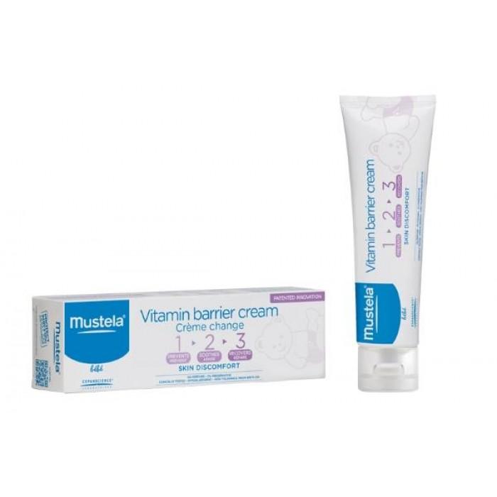 Mustela 123 Vitamin Barrier Cream 50ml