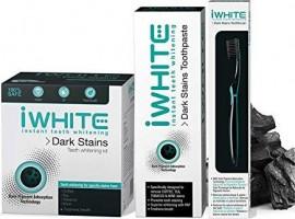 iWHITE Dark Stains Σύστημα Λεύκανσης + ΔΩΡΟ Οδοντόβουρτσα + Οδοντόκρεμα