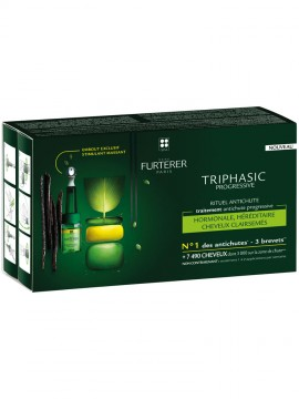Furterer Triphasic Progressive Anti-Hair Loss Ritual Progressive Anti-Hair Loss Treatment 8 x 5,5ml