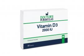 Doctors Formulas Vitamin D3 2000iu 60 Κάψουλες