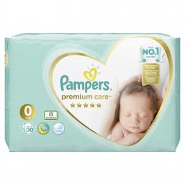 Pampers Premium Care Micro Νo 0 (1-2.5kg) 30πάνες