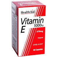 HealthAid Vitamin E 1000 i.u 30caps