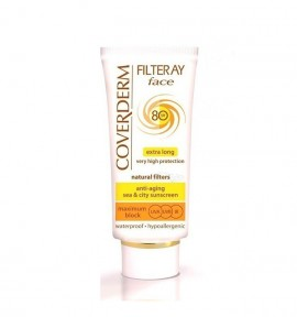 Coverderm Filteray Tinted Soft Brown Face Cream SPF80 50ml