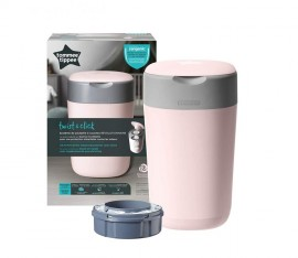 Tommee Tippee Twist and Click Κάδος Απόρριψης Πάνας ΡOZ