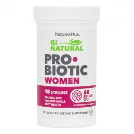 NaturesPlus Gi Natural Probiotic Women 30 Κάψουλες