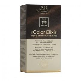 Apivita My Color Elixir 6.35 Ξανθό Σκούρο Μελί Μαονί