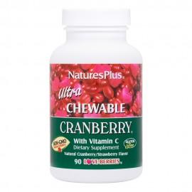 NaturesPlus Ultra Chewable Cranberry 90 chewable tabs