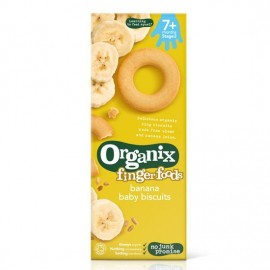 Organix Finger Foods Banana Baby Biscuits 9τεμ.