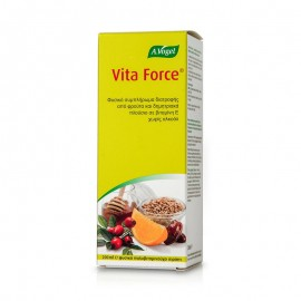 A.Vogel Vita Force, Πολυβιταμινούχο Σιρόπι Πλούσιο σε Βιταμίνη Ε 200ml