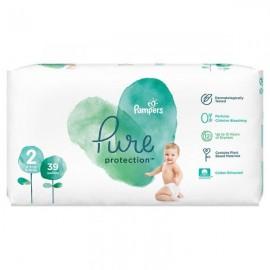 Pampers Pure Protection Μέγεθος 2 (4-8Kg) 39 Πάνες
