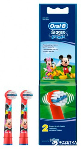Oral-B Stages Power Mickey Mouse Clubhouse 2 ανταλλακτικά