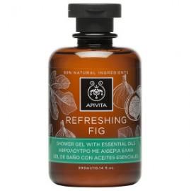 Apivita Refreshing Fig Aφρόλουτρο με Aιθέρια Έλαια 300ml
