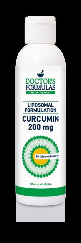 Doctors Formulas Liposomal Curcumin 200mg 180ml