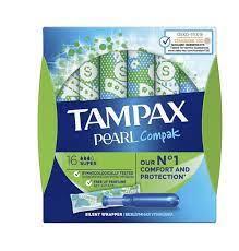 Tampax Pearl Compak Super με Απλικατέρ 16τμχ