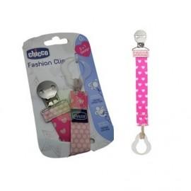 Chicco Fashion Clip Κλιπ Πιπίλας Ροζ 1 τεμάχιο