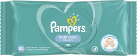 Pampers Fresh Clean Μωρομάντηλα με υπέροχο άρωμα φρεσκάδας 52 τεμάχια