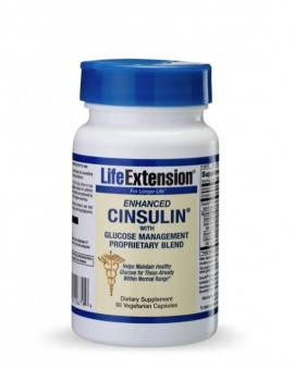 LIFE EXTENSION Cinsulin with Glucose Management