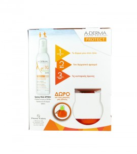 ADERMA PROTECT Kids SPF50+ Spray 200ml & ΔΩΡΟ Παγουράκι