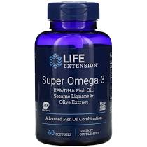 Life Extension Super Omega-3 EPA/DHA 120 μαλακές κάψουλες