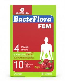 HolisticMed BacteFlora Fem 10 κάψουλες