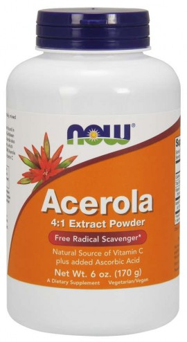 Now Acerola 4:1 powder 170gr