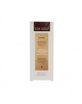 ΚΟΡΡΕΣ Abyssinia superior gloss colorant 5.34 Καστανό ανοιχτό χρυσό χάλκινο