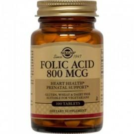 Solgar Folacin (Folic Acid) 800μg 100tablets