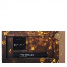 Korres Promo The Gold Eye Set Black Volcanic Minerals Volume Mascara 01 Black 8ml & Eyeshadow Χρυσή 1.5gr