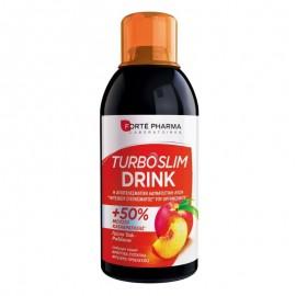 Forte Pharma Turboslim Drink Γεύση Ροδάκινου 500ml