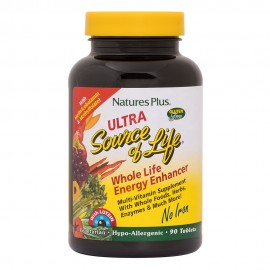 NaturesPlus ULTRA Source of Life NO IRON 90 tablets