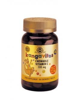 SOLGAR Kangavites Vitamin C 100mg 90 chewable tablets