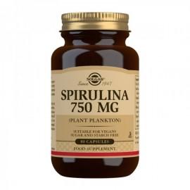Solgar Spirulina 750mg 80 ταμπλέτες