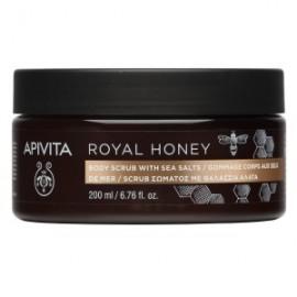 Apivita Royal Honey Scrub Σώματος με Θαλάσσια Άλατα και Μέλι 200ml