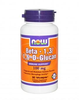 NOW Beta 1,3/1,6-D-Glucan 100mg