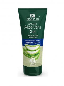 Optima Organic Aloe Vera Gel with Vit A,C,E 200 ml