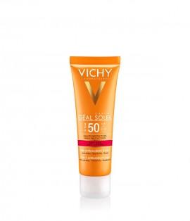 VICHY Ideal Soleil Anti-Age Αντιγηραντικό Αντηλιακό Προσώπου 3σε1 SPF50+