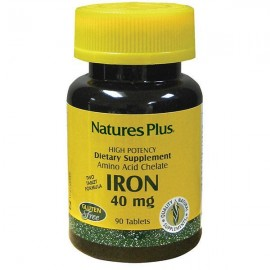 Natures Plus Iron 40mg 90 ταμπλέτες
