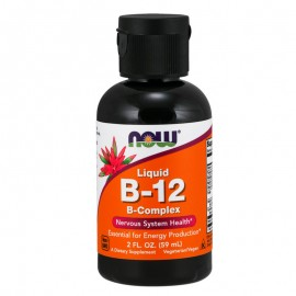 Now Liquid B12 Complex Vegetarian 59 ml